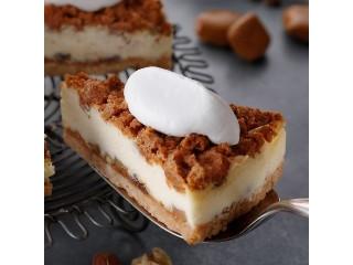 スターバックス ナッツ&キャラメルチーズケーキ