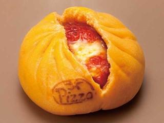 セブン-イレブン とろ~りチーズと完熟トマトのピザまん