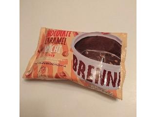 セブン-イレブン マックス ブレナー チョコレートキャラメルMOCHIアイスクリーム 袋115ml