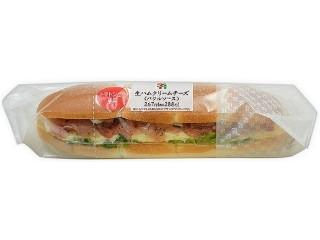 セブン-イレブン 生ハムクリームチーズ バジルソース