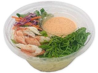 セブン-イレブン 大葉香るたっぷり明太クリームと香り箱のパスタサラダ