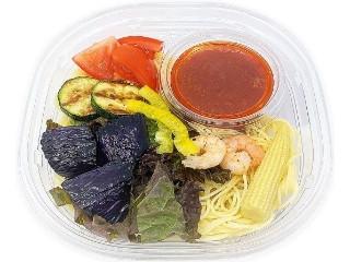 セブン-イレブン 夏野菜とトマトソースの冷製パスタ
