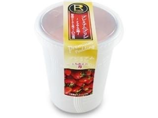 ロピア プレミアムプリン とちおとめ苺 カップ1個