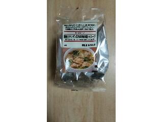 豚肉とチンゲン菜の胡麻味噌坦々スープ