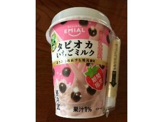 エミアル タピオカとちおとめ苺ミルク カップ255g