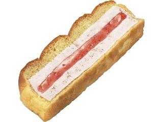 ローソンストア100 VL いちごジャム&いちごホイップパン