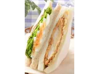 ナチュラルローソン 桜島どりのカツと野菜のサンド
