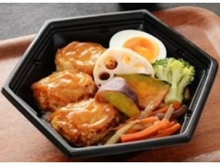 ナチュラルローソン お豆腐仕立ての鶏つくねごはん