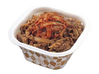 キムチ牛丼弁当