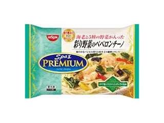 スパ王プレミアム 彩り野菜のペペロンチーノ