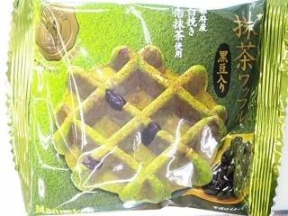 マネケン 抹茶ワッフル 黒豆入り 袋1個