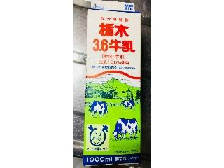 栃木 栃木3.6牛乳 パック1000ml