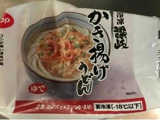四国日清 冷凍讃岐かき揚げうどん 2食