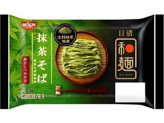 日清 和麺 抹茶そば 袋310g
