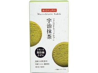 ビオクラ マクロビオティックサブレ 宇治抹茶 箱50g