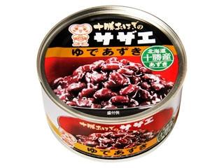 三菱食品 十勝おはぎのサザエ ゆであずき 缶190g