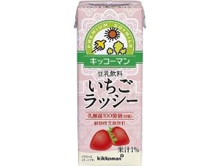 キッコーマン 豆乳飲料 いちごラッシー パック200ml