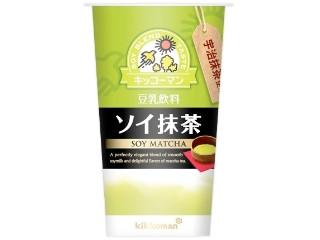 キッコーマン 豆乳飲料 ソイ抹茶 カップ200ml