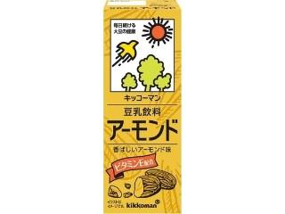 キッコーマン 豆乳飲料 アーモンド パック200ml