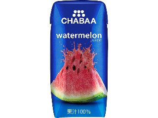 CHABAA ウォーターメロンジュース