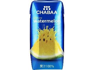 CHABAA イエローウォーターメロンジュース