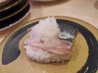 はま寿司 炙りとろいわしおろし盛り