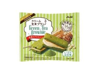 アサヒ クリーム玄米ブラン 抹茶のブラウニー 袋70g