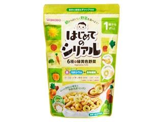 和光堂 はじめてのシリアル 6種の緑黄色野菜 1歳からずっと 袋40g