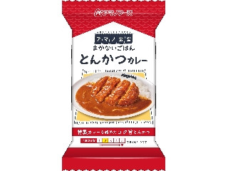 アマノフーズ まかないごはん とんかつカレー 袋55g