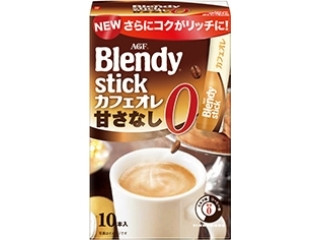 AGF ブレンディ スティック カフェオレ 甘さなし 箱8.9g×10