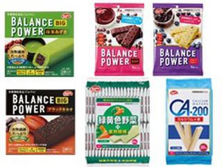 秋の新作バランスパワーと栄養素プラスウエハース6点セット