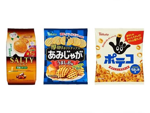 【ソルティ&ポテコ&あみじゃが】東ハトのイチオシお菓子3種15点セット